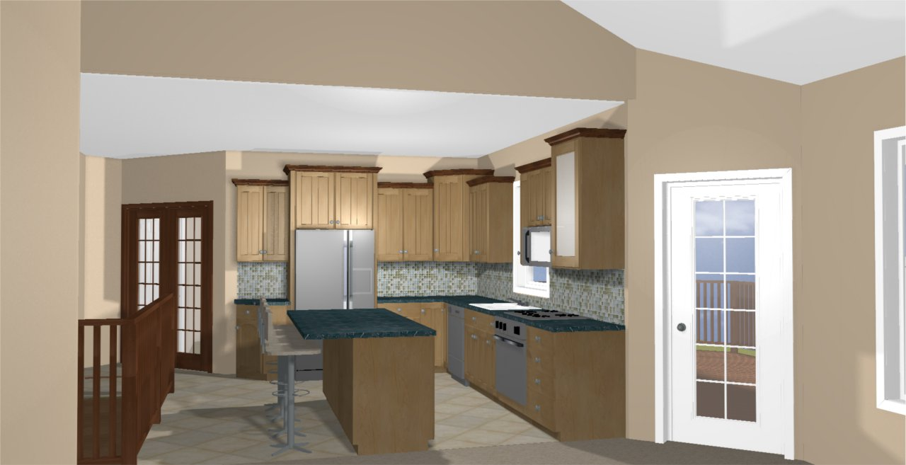Kitchen visual tjp designs construction llc for Kitchen design visualiser