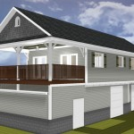 Guest Cottage over existing garage